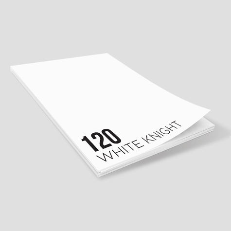 120 White Knight Notepads