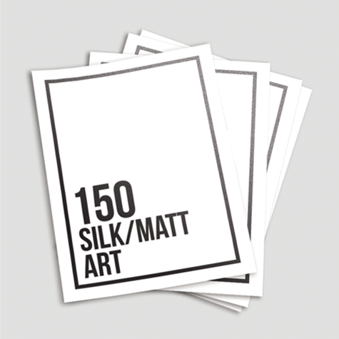 150 EcoStar + Silk/Matt 100% Recycled