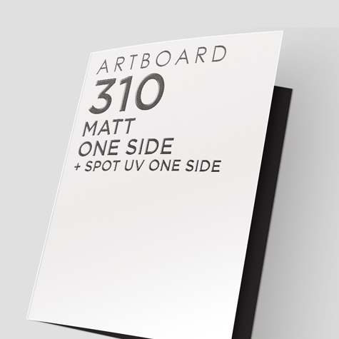 Presentation Folders Matt One Side + Spot UV 1 Side