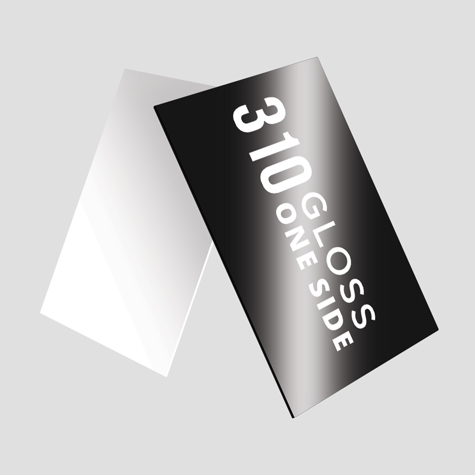 310 Gloss One Side