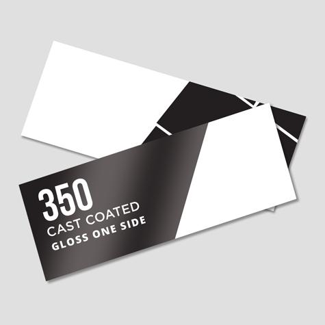 350 Artboard Cast Coated Gloss 1 Side