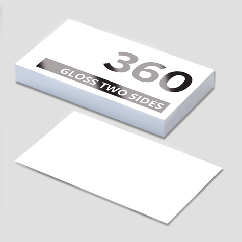 Standard Business cards gloss