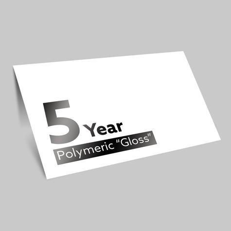 5 Year Polymeric