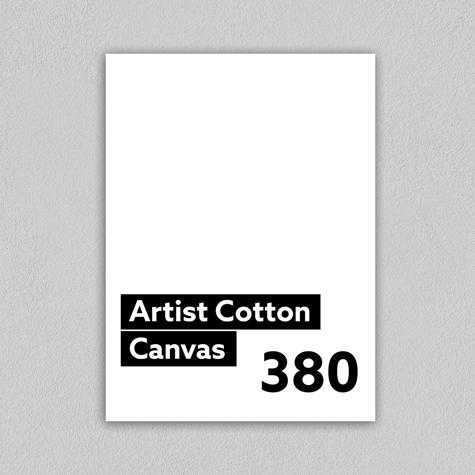 Artist Cotton Canvas 380gsm