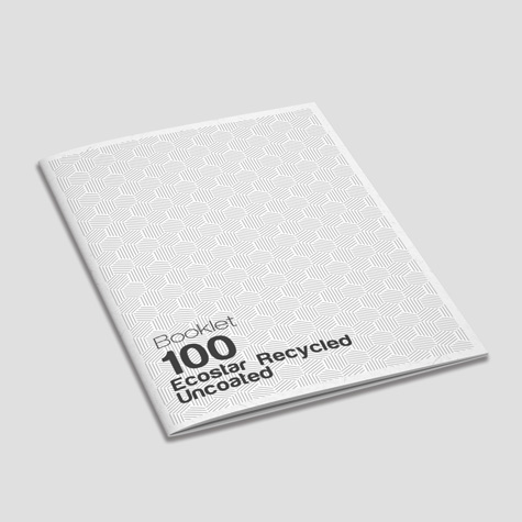 100 Ecostar recycled Uncoated