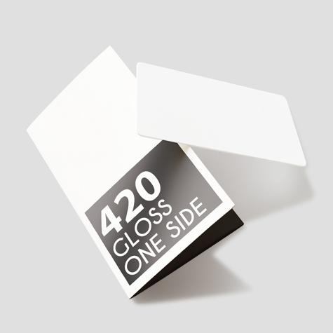 420gsm Gloss One Side