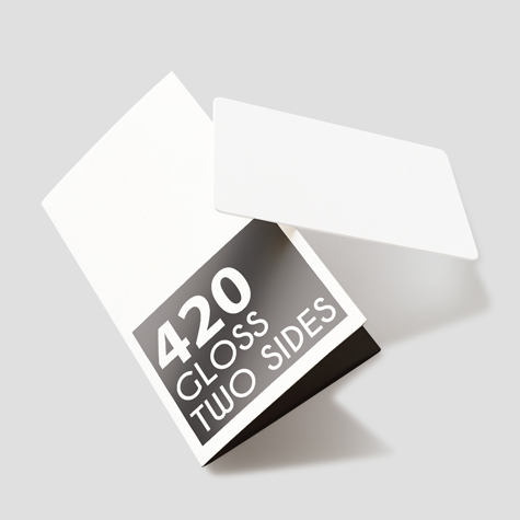 420gsm Gloss Two Sides
