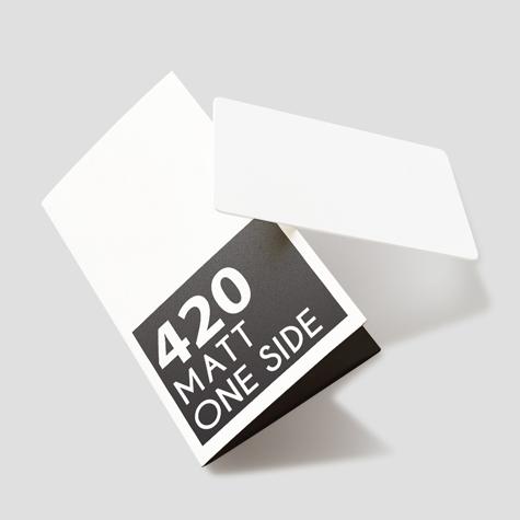 420gsm Matt One Side