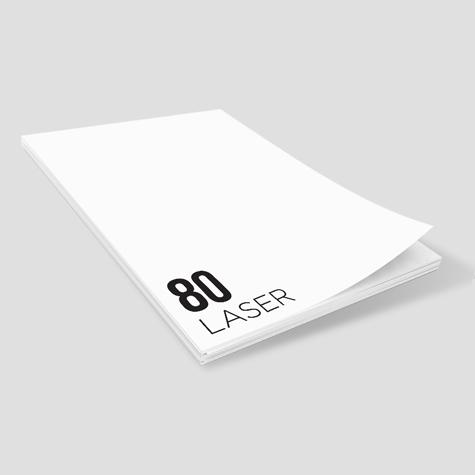 80 Laser Notepads