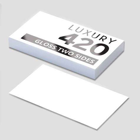 Premium Business cards gloss