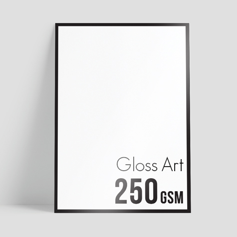 250gsm Gloss Art (by HP Indigo 7800)