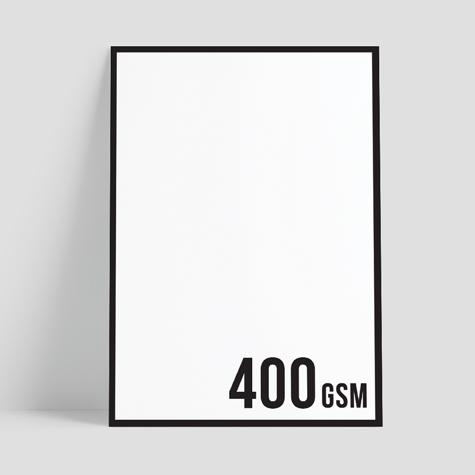 440gsm Blockout Poster