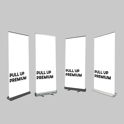 Premium - Pull Up Banner Sets
