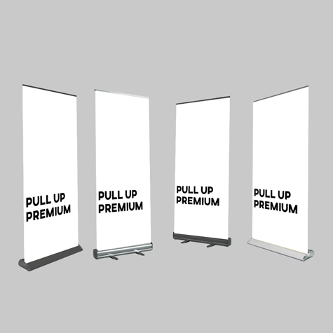 Premium - Pull Up Banner Sets