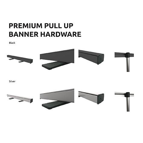 Mini - Pull Up Banner Hardware