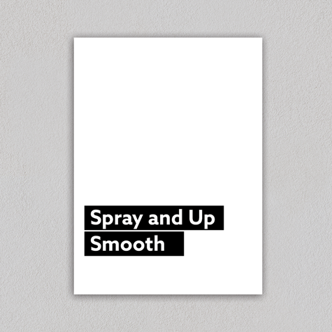 Spray and Up - Smooth