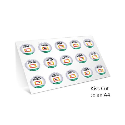 Stickers Large Format SAV